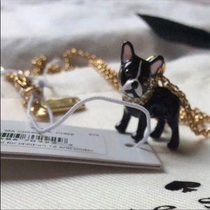 kate spade Jewelry - $58 New Kate Spade Ma Cherie Dog Necklace